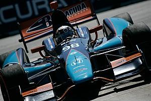 IndyCar Race report Barracuda Racing's top-10 run cut short by contact