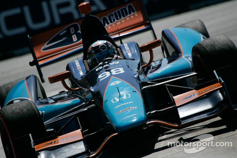 Barracuda Racing's top-10 run cut short by contact