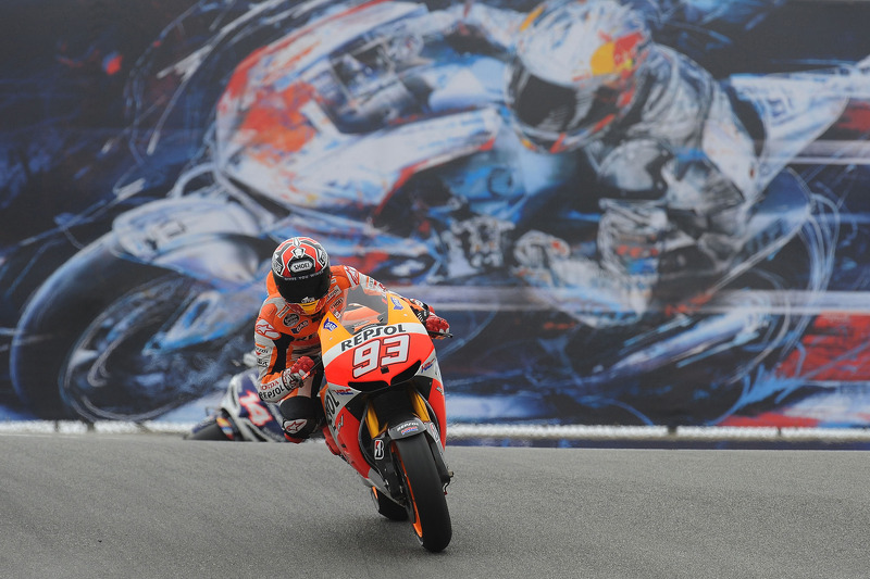 Marquez leads the chasing pack on day one at Mazda Raceway Laguna Seca