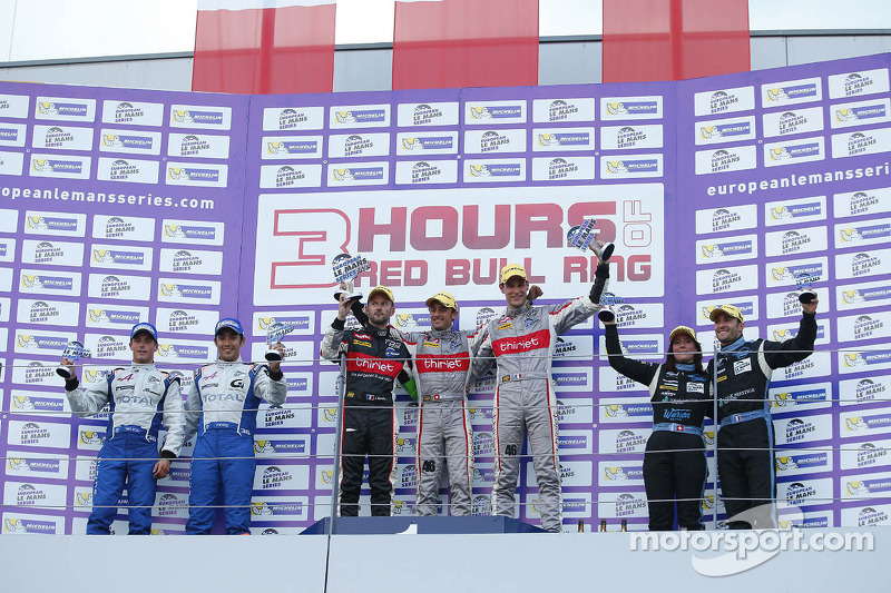Alpine and Nelson Panciatici on the podium again in Austria