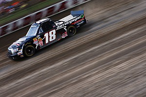 NASCAR Truck Race report Coulter pulls a