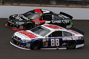 NASCAR Cup Special feature Dale Earnhardt Jr.'s early-race choice was difficult but necessary