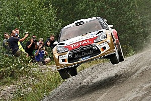 WRC Qualifying report Hirvonen wins Finland qualifying