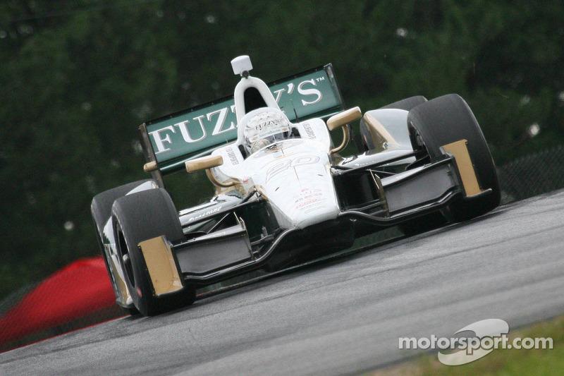 Tough track conditions hinder Carpenter's laps friday in Mid-Ohio practice
