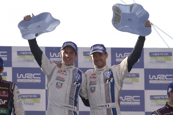 The king of the forests: Sébastien Ogier wins for Volkswagen in Finland