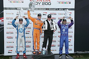 IndyCar Race report Kimball continues Honda winning streak at Mid-Ohio