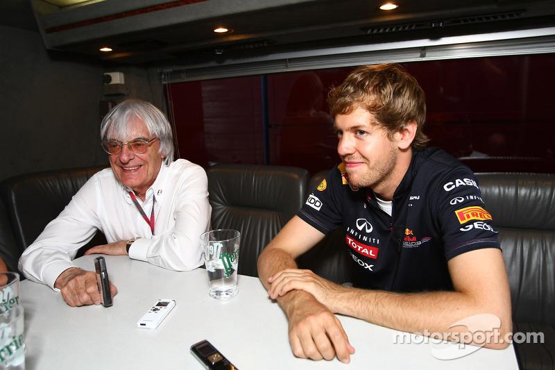 Vettel backs Ecclestone amid legal troubles