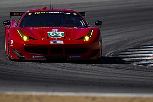 ALMS Qualifying report Risi's conservative qualifying tire choice aimed at Road America race performance