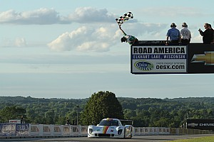Grand-Am Race report Daytona Prototype win for No. 8 Starworks BMW Riley at Road America