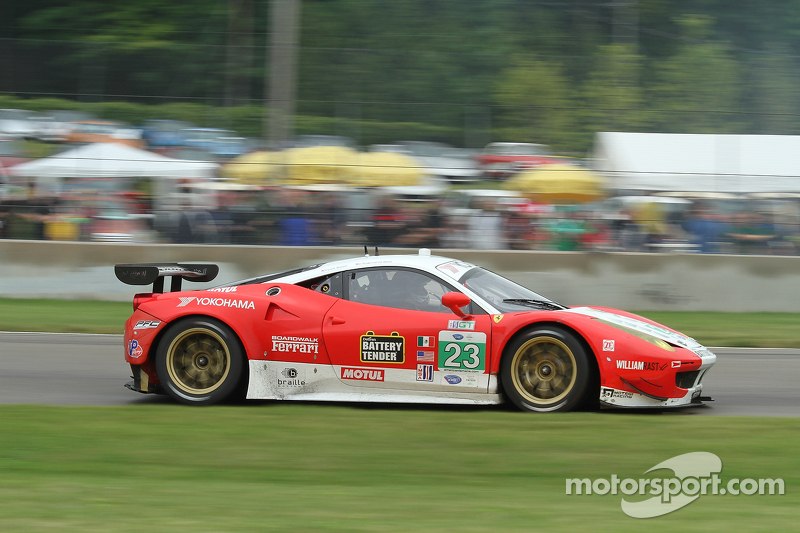 Keen and Bell have Tough Road America in Team West/AJR Ferrari