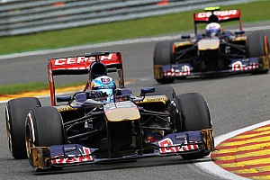 Formula 1 Race report A single point for Toro Rosso on Belgian GP