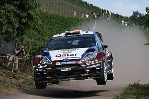 WRC Race report Neuville secures second in nail-biting fight to the finish on Rallye Deutschland