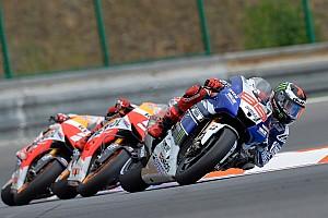 MotoGP Race report Lorenzo battles for Brno podium