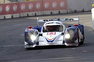 ALMS Qualifying report Dyson qualified the #16 Mazda Lola second in Baltimore