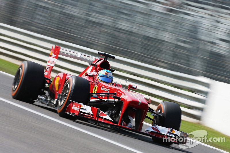 Ferrari: Head down and heading for qualifying for the Italian GP