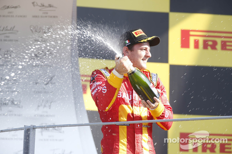 Leimer wins and Leal finishes 5th on Feature Race for Racing Engineering at Monza