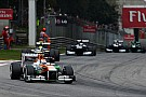 A tough day for Sahara Force India at Monza