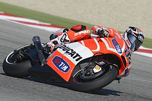 MotoGP Qualifying report Challenging qualifying session for Ducati Team at Misano