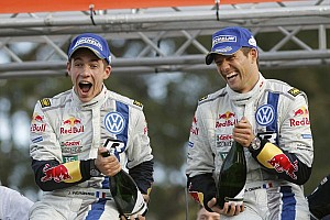 WRC Race report Ogier's rally in Australia - but no title yet