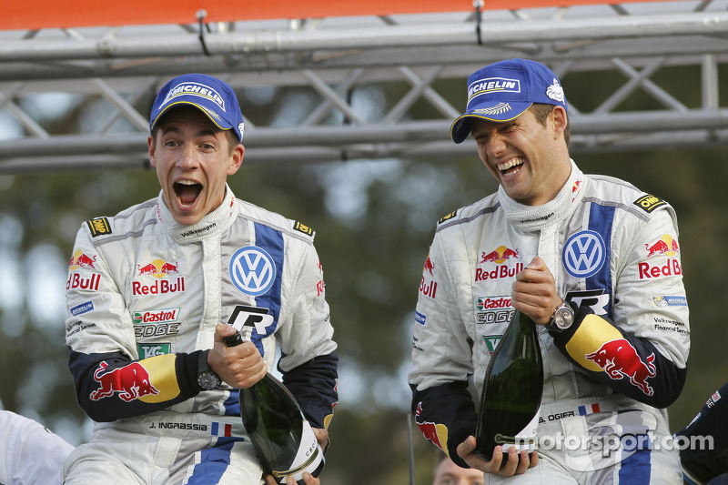 Ogier's rally in Australia - but no title yet