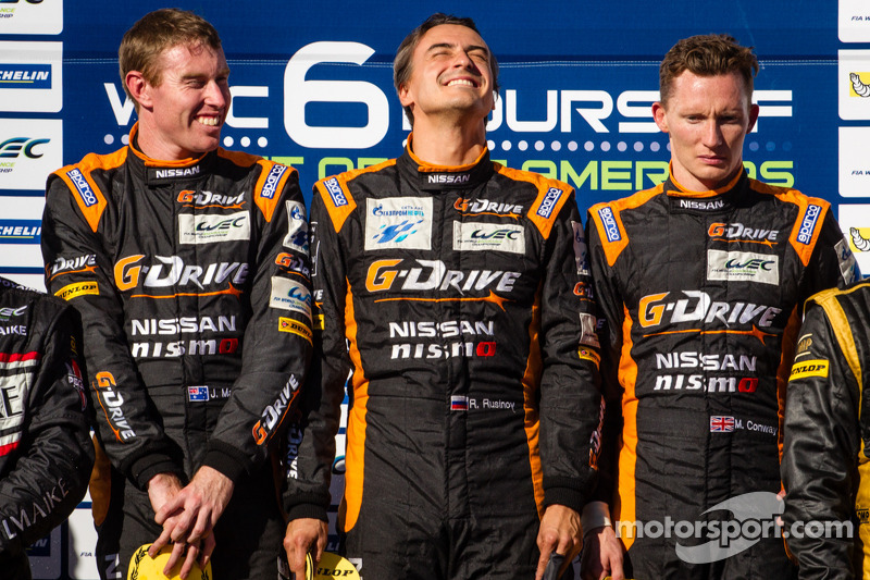 Another win for G-Drive Racing and a 1-2 finish for the ORECA 03 at COTA