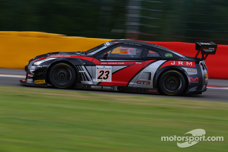 Fifth in class brings successful BES to a close for JRM Racing in Germany