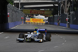 GP2 Race report Good fightbacks from Rio Haryanto and Jake Rosenzweig in Singapore