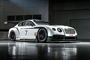 Endurance Breaking news Bentley Continental GT3 poised to make race debut