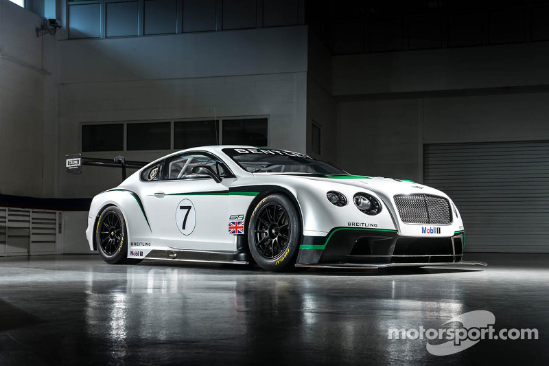 Bentley Continental GT3 poised to make race debut