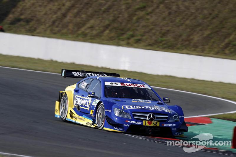 Gary Paffett best-placed Mercedes-Benz driver in Zandvoort