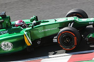 Formula 1 Practice report Caterham F1 drivers on Friday's practice at Japan