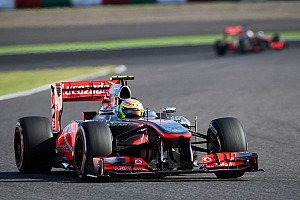 Formula 1 Qualifying report Button gets into Q3 and shares 5th row with Perez at Suzuka