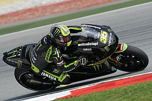 MotoGP Qualifying report Crutchlow storms to sensational Sepang front row
