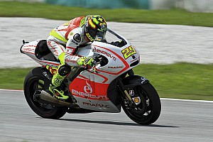 MotoGP Race report Iannone forced to withdraw at Aragon