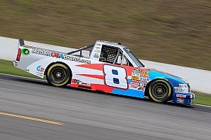 NASCAR Truck Race report Gresham 8th and Lofton 20th in Talladega