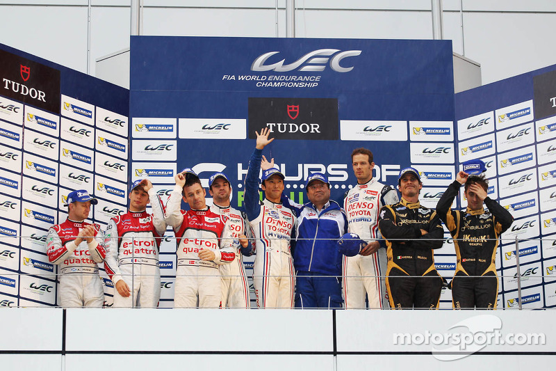Third place podium finish for REBELLION Racing at 6 Hours of Fuji