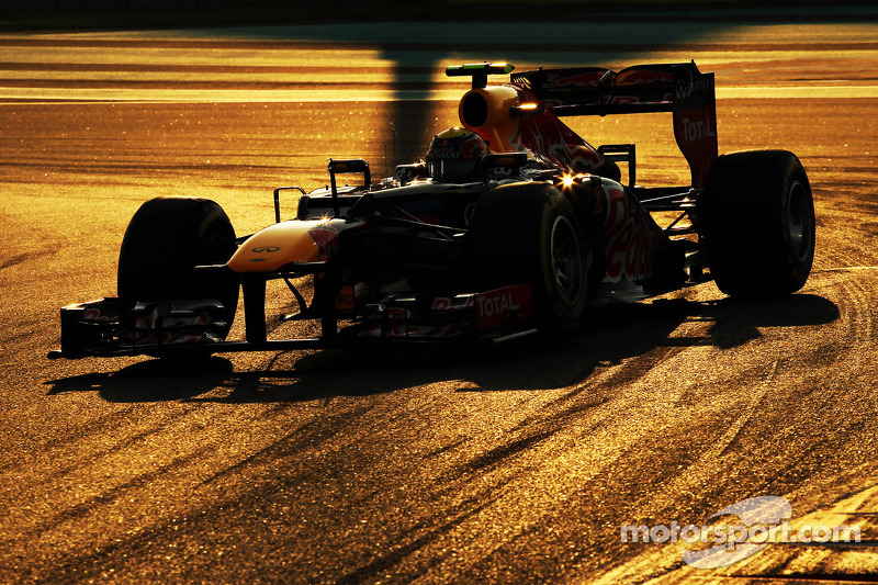 Infiniti Red Bull Racing drivers ahead of Abu Dhabi GP