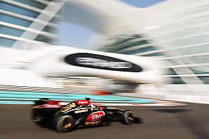 Formula 1 Practice report Lotus demonstrated strong potential on practice for the Abu Dhabi GP