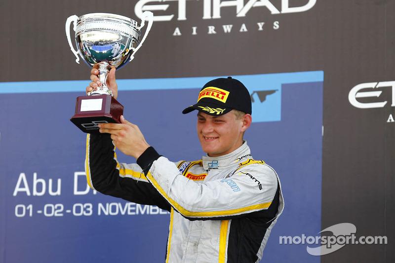 DAMS finishes its season on the podium!