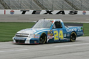 NASCAR Truck Race report Hornaday finishes 3rd and Newberry 13th at Texas