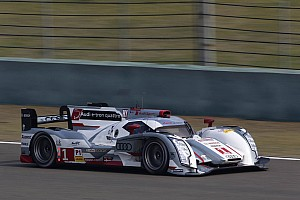 WEC Qualifying report Audi on front row at Shanghai
