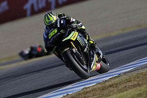 MotoGP Qualifying report Crutchlow and Smith qualify inside top six for final showdown at Valencia
