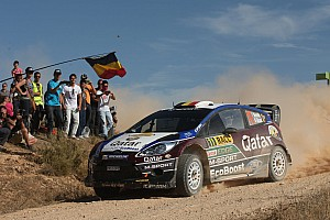 WRC Race report Neuville and Evans on the pace in Wales