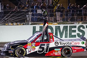 NASCAR Truck Race report With Rowdy behind the wheel there's always a chance