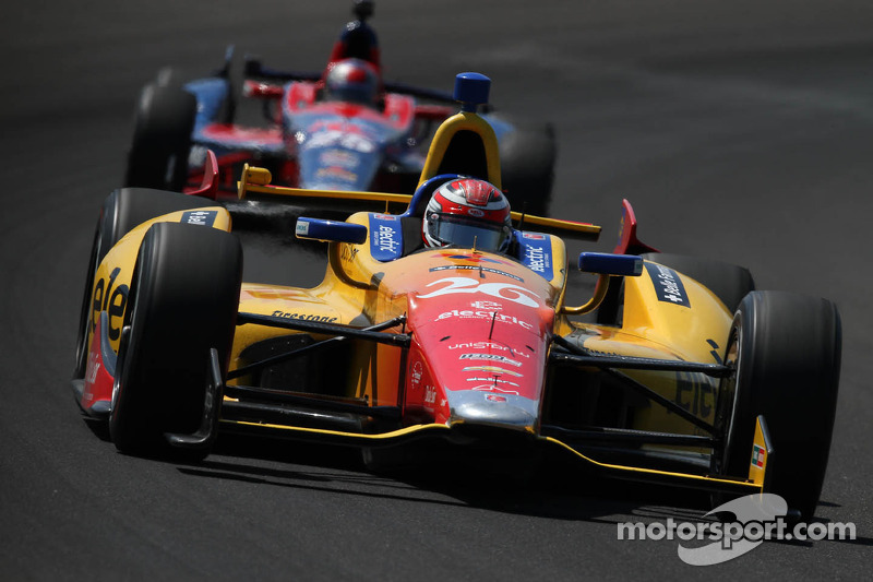 Indy 500 star rookie Carlos Munoz joins Andretti Autosport