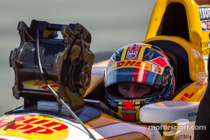 Hunter-Reay impressed with Honda power in early going