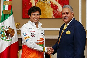 Formula 1 Breaking news Sergio Perez joins Sahara Force India with multi-year deal