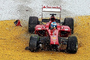 Formula 1 Breaking news Alonso admits 2013 not best season as driver