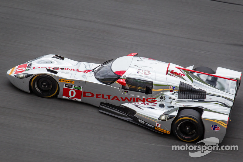 DeltaWing Racing cars enjoys competitive test session at the 'Roar Before the 24'