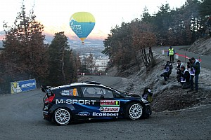 WRC Stage report M-Sport: Midday quotes on day 2 at Rallye Monte-Carlo